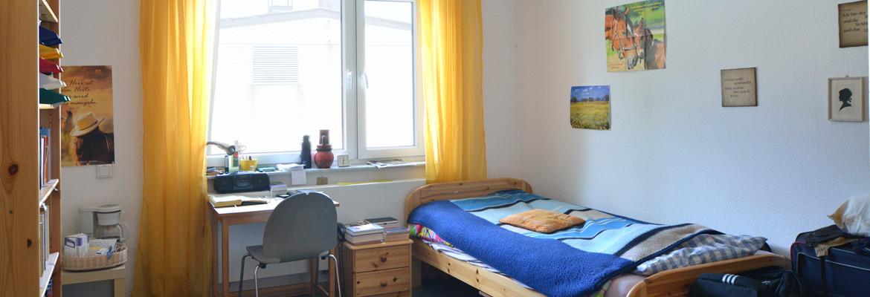 individuelles Bewohnerzimmer