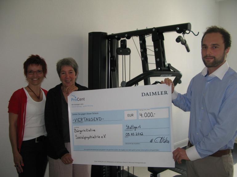 4000 Euro für BI-Marburg