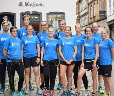 20 Jahre Nachtmarathon in Marburg und die BI ist wieder mit am Start