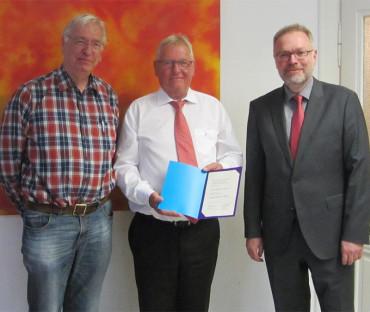 Rüdiger Schmeltzer mit Kronenkreuzverleihung aus dem Aufsichtsrat verabschiedet