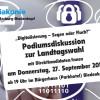 """Podiumsdiskussion zur Landtagswahl<br />""""Digitalisierung – Segen oder Fluch?"""""""