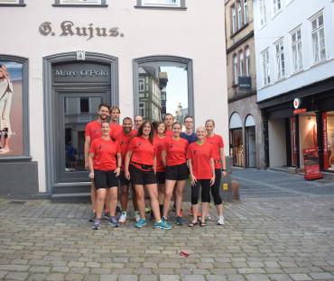 Teilnahme am 22. Marburg Nachtmarathon am 05. Juli