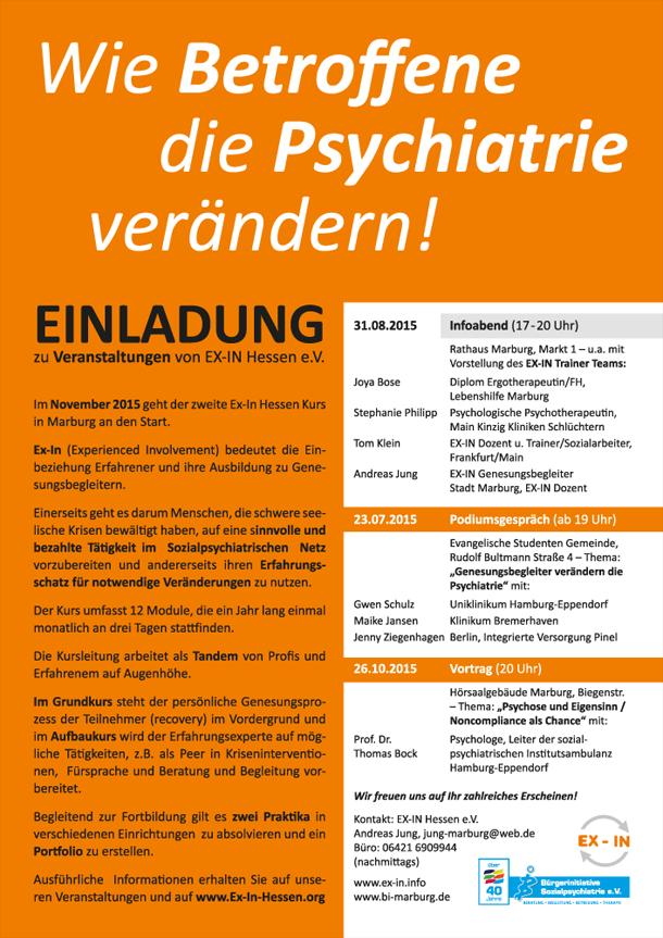 Wie Betroffene die Psychiatrie verändern